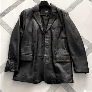 Leather Blazer / Sport Coat / Jacket